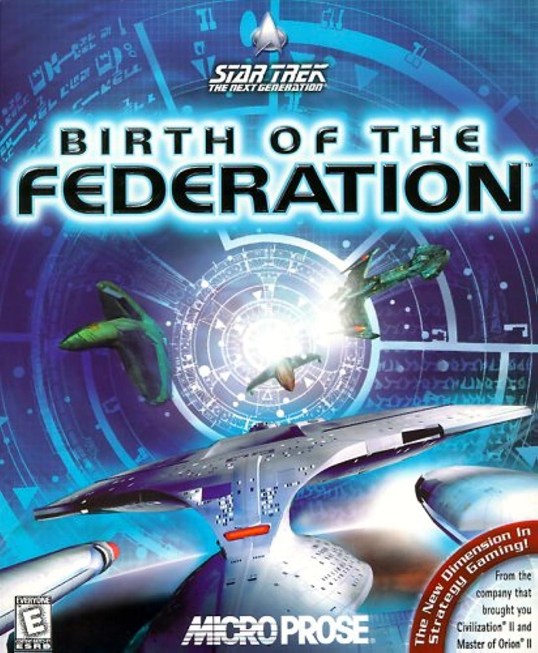 告発クルー私Star Trek: The Next Generation, Birth of the Federation (輸入版)