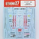 【STUDIO27/スタジオ27】1/20 ウルフ WR1 セオドールレーシング デカール