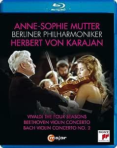 Anne-Sophie Mutter & Karajan [Blu-ray]