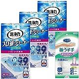 【お掃除アソート】洗浄力 フロ釜クリーナー 350g×3個+ファミリー ポリエチレン手袋10枚 1つ穴 2つ穴 両用 風呂 風呂釜 洗浄剤