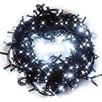 iimono117 イルミネーション 10.5m LED 300球 / 屋外[ 防水 防滴型 同種類 約72m まで 連結可能 ] クリスマス イベント デコレーション 製品保証付き (ホワイト)