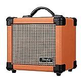 Mugig ギターアンプ 10W出力通用 ミニヘッドフォンアンプ 二重電源  オーディオ 携帯便利 エレキギターに適応