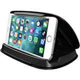 Car Phone Holder Dashboard, Cell Car Phone Mount, Durable Dash Cell Phone Holder for Car Cradle Compatible for iPhone 11 Pro