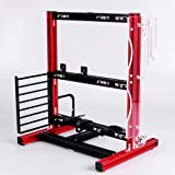 ATX / M-ATX / ITX DIY Chassis Bracket Open Chassis,Vertical Overclocking Open Aluminum Frame Chassis Rack,Water-Cooled PC Tes