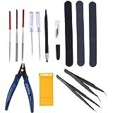 HOMYL 13x Modeler Basic Tools Craft Set Hobby Model Building Kit Cutter for Gundam