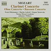 Concertos for Bassoon, Oboe & Clarinet