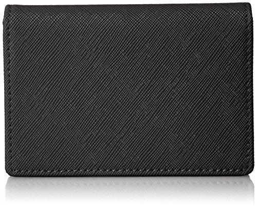 [レガーレ] カードケース 本革 大容量 磁石でキッチリ閉まる安心設計 (化粧箱入り) 名刺入れ ブラック