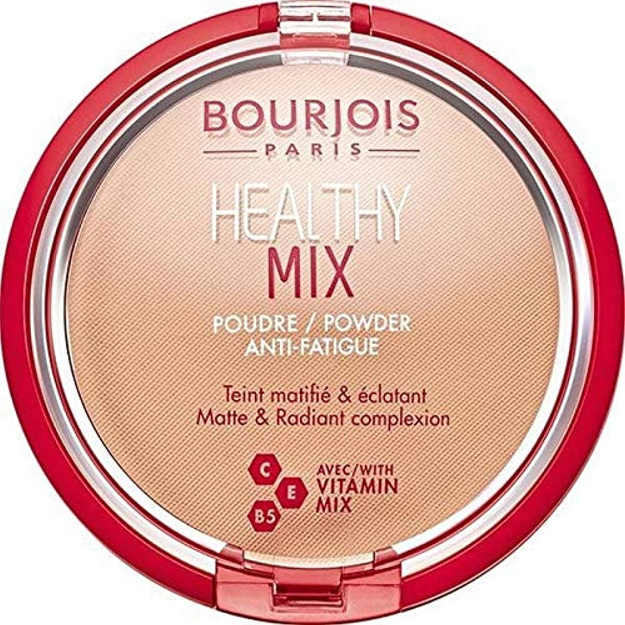前兆バッグ憂慮すべき[Bourjois ] ブルジョワヘルシーミックスは粉末3を押します - Bourjois Healthy Mix Pressed Powder 3 [並行輸入品]
