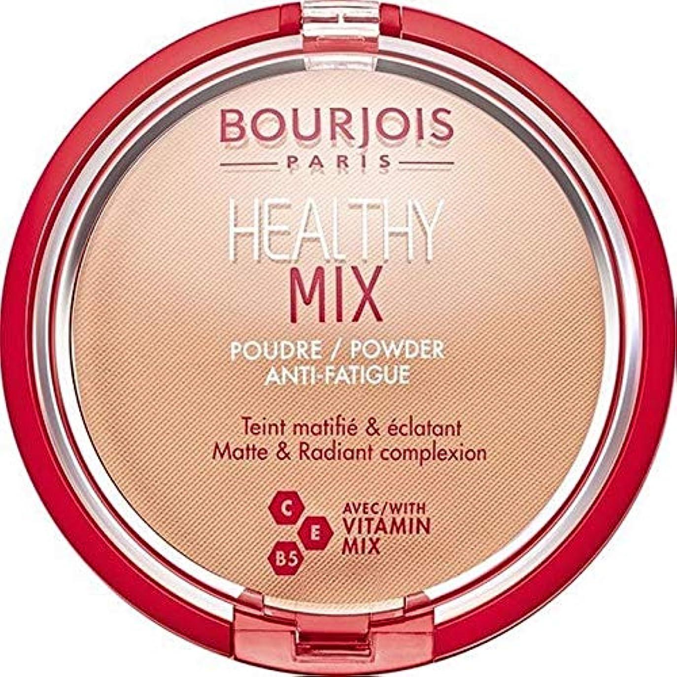 傷つける吸収周り[Bourjois ] ブルジョワヘルシーミックスは粉末3を押します - Bourjois Healthy Mix Pressed Powder 3 [並行輸入品]