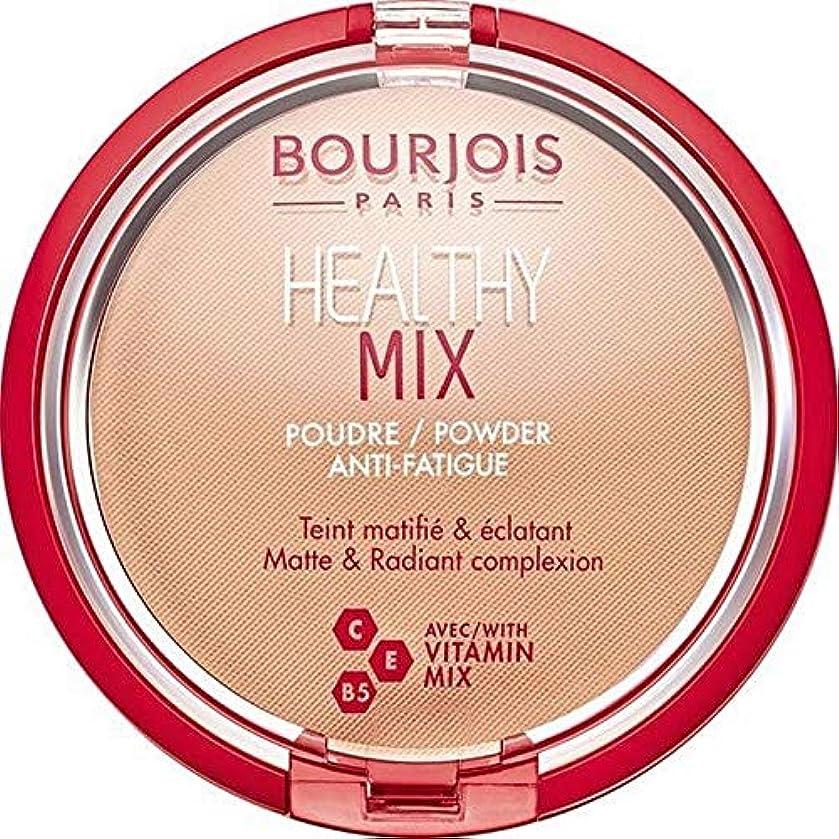 浅い盗賊入る[Bourjois ] ブルジョワヘルシーミックスは粉末3を押します - Bourjois Healthy Mix Pressed Powder 3 [並行輸入品]