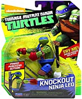 Teenage Mutant Ninja Turtles TUA71101 Knockout Ninja Leo Figure 12 cm