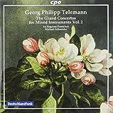 ゲオルク・フィリップ・テレマン:様々な楽器のための大協奏曲集 第2集
