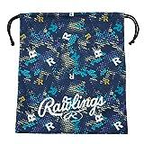 ローリングス(Rawlings) 野球用 グラブ袋Rドット EAC11S02 ネイビー サイズ 40X34.5cm