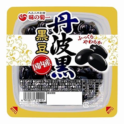 菊池食品工業 国内産丹波黒黒豆 特大粒140g×6個