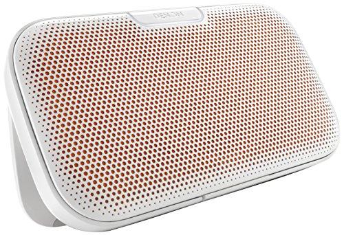 Denon デノン Bluetooth ポータブル スピーカー NFC対応 高音質aptX対応 Envaya ホワイト DSB-200WTEM
