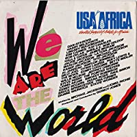USA For Africa ‎– We Are The World (7 inch)