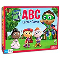 Super Why ABC Letter Game - Comes with Bonus Deck of Cards!