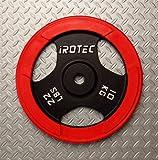 IROTEC(アイロテック) ラバープレート10KG / バーベルプレート 画像