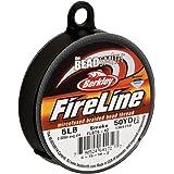 (Grey, 1 - Pack) - FireLine Braided Bead Thread .20cm Smoke Grey