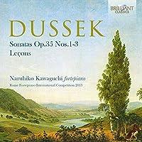 Dussek: Sonatas Nos.1-3 - Lecons by Naruhiko Kawaguchi