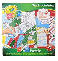 CrayolaカラーWonder The Elf on the Shelf Color Your Own Puzzle