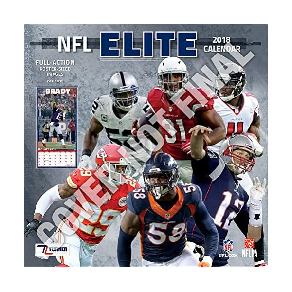 NFL Elite 2019 Calendarの商品画像