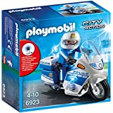 Playmobil Police Bike with LED Light Playset Toy