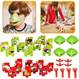 Frog mask Game, Quick Tongue Out, Family Entertainment, Parent-Child Interaction mask, Family Games, Suitable for Anyone's Fr