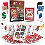 Carnival Trick Cards - Magic Tricks By Magic Makers - Video Learning Included by Magic Makers