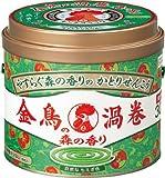 「金鳥の渦巻 蚊取り線香 森の香り 30巻 缶」のサムネイル画像