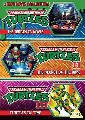 Teenage Mutant Ninja Turtles - The Movie Collection: 3DVD Set (Teenage Mutant Ninja Turtles/Secret Of The Ooze/Turtles In Time) by Corey Feldman
