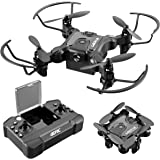 4DRC V2 Mini Drone for Kids and Beginners RC Foldable Nano Pocket Quadcopter Boys and Grils Toys with Altitude Hold, Headless