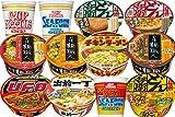 日清 人気カップ麺 詰め合わせ 12種類 各1個 1箱:12個入り +高森ナポリタン1袋