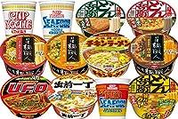 日清 人気カップ麺 詰め合わせ 6種類 各2個 1箱:12個入り