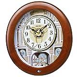 SEIKO CLOCK セイコークロック 電波からくり時計 RE574Bの画像