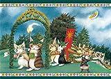 500ピース ジグソーパズル わちふーるど 夏至祭り(38x53cm)