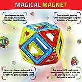 [マジカルマグネット]Magical Magnet Building Learning Toy Set for Kids Magnetic Shapes for All Children and Involved [並行輸入品]