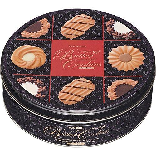 ブルボン ミニギフトバタークッキー缶 【BOURBON 洋菓子 焼菓子 焼き菓子 スイーツ おいしい 美味しい つめあわせ 詰合 詰め合わせ 詰合せ 詰め合せ 来客用 おやつ おかし お菓子 700】