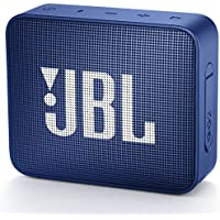 JBL GO2 Bluetoothスピーカー IPX7防水/ポータブル/パッシブラジエーター搭載 ブルー JBLGO2BLU 【国内正規品/メーカー1年保証付き】