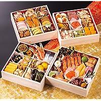 京都 祇おん 江口 監修 おせち料理 2019 祝 与段重 56品 盛り付け済み 冷蔵おせち お届け日:12月31日