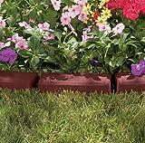 [サンキャスト] ボーダーエッジング(ブロック)*ガーデン用プラスチックガーデンレンガ調7本(2.84m分)根止め芝止め