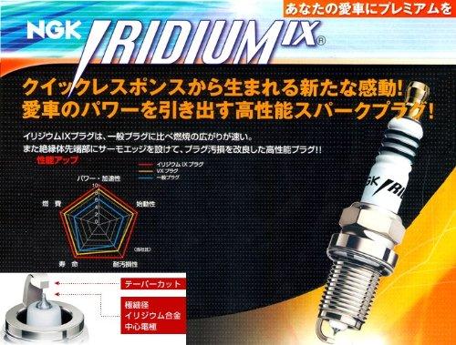 ☆NGKイリジウムIXプラグ☆シトロエンC5 ブレーク2.0 GF-X4RFNW用 1台分(4本)セット