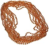 Party Beads - Small Round (orange) (12/Card) by Beistle