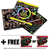 Scratch Art Doodle Pad + FREE Melissa & Doug Scratch Art Mini-Pad Bundle