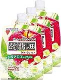 マンナンライフ 大粒アロエinクラッシュタイプの蒟蒻畑りんご味 150g×3個