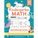 Kindergarten Math Workbook: Kindergarten and 1st Grade Workbook Age 5-7   Homeschool Kindergarteners   Addition and Subtracti