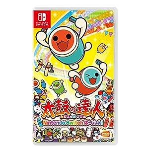 太鼓の達人 Nintendo Switchば~じょん! (【早期購入特典】演奏キャラクター「ゴールドどんちゃん」が手に入るダウンロード番号 同梱)