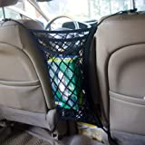 3-Layer Car Mesh Organizer Seat Back Net Storage Bag Driver Tactical Storage Pocket Tissue Purse Holder Passenger Storage Net