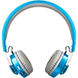 LilGadgets Untangled Pro Premium Children's/Kid's Wireless Bluetooth Headphones with SharePort (Blue)