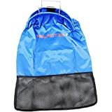 Palantic Blue Lobster Fish Catch Gear Nylon Game Bag Net with SS Handle